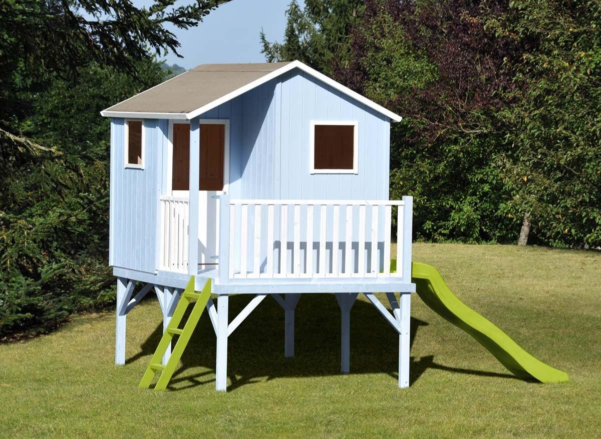 Cabane Enfant Soulet - Cabanes Abri Jardin pour Cabane En Bois Sur Pilotis Pas Cher
