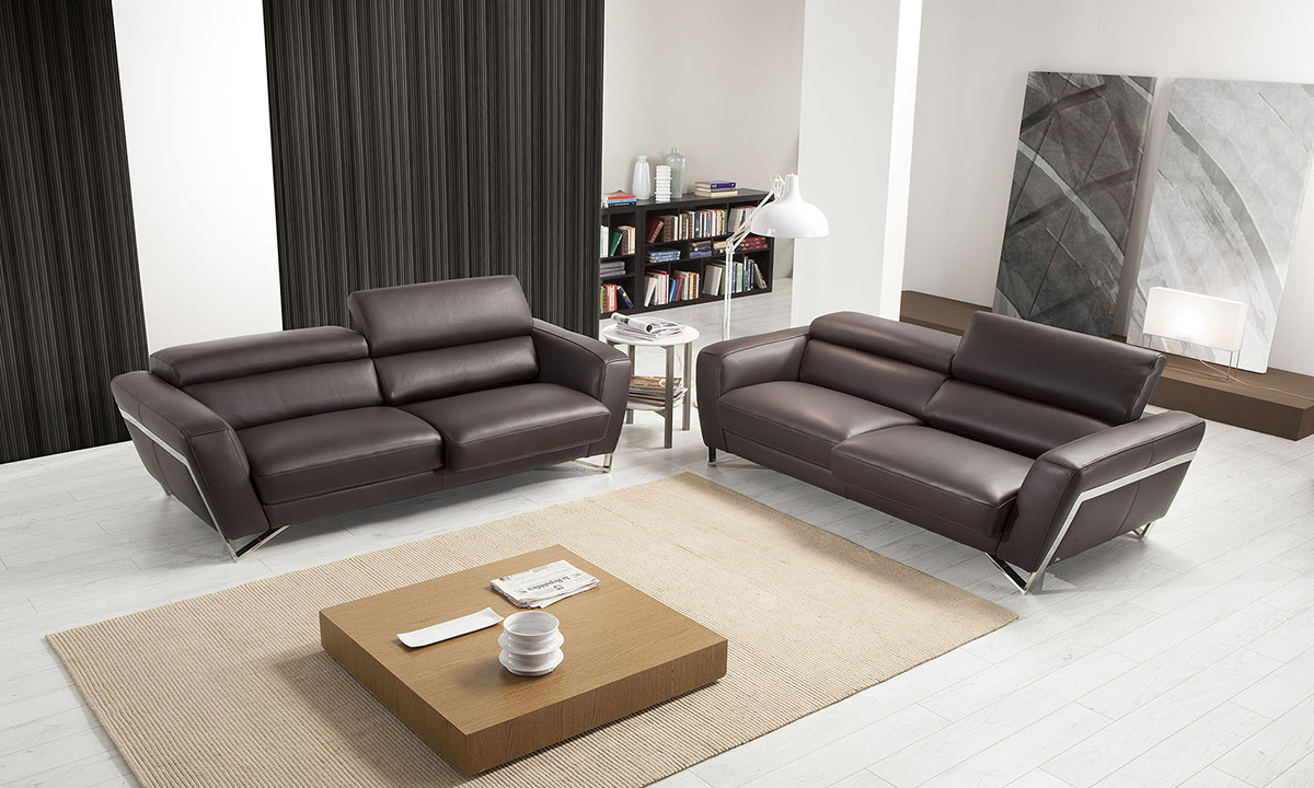 Canapé Cuir - Itaca Nicoletti 2/3 Places | Home Center tout Canape Chicago Cuir Center