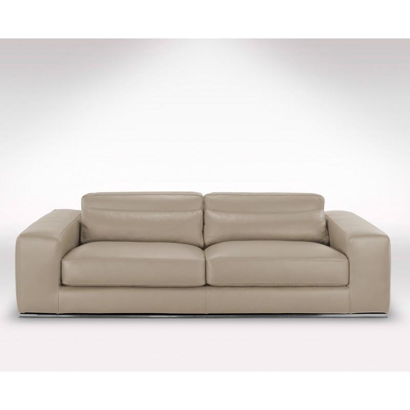Canapé Cuir Italien Haut De Gamme Matisse [Promo] avec Canapé Cuir Direct Usine
