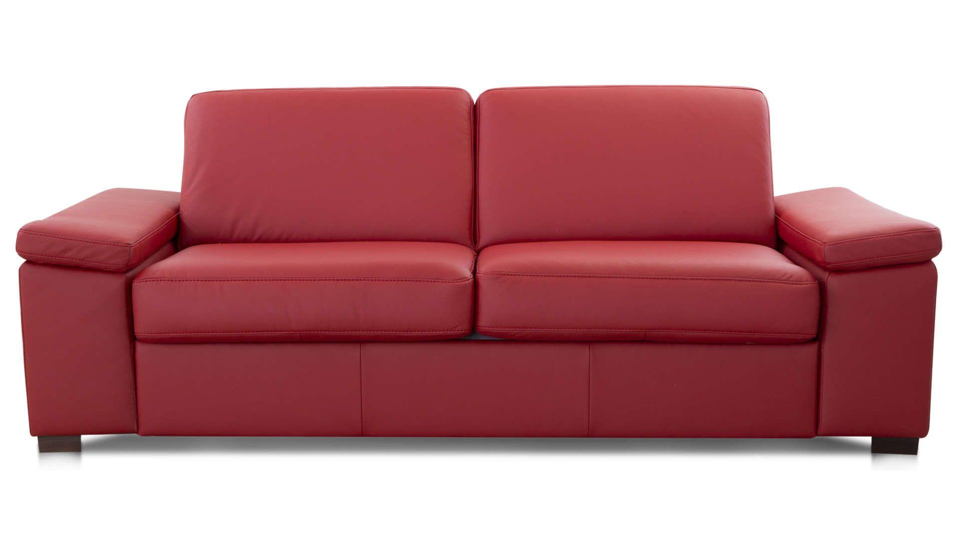 Canapé Droit Convertible 2,5 Places En Cuir Comfort Bultex ... pour Canapé Divalit Bultex