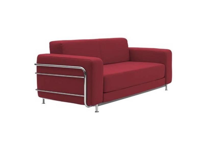 Canapé En Métal Rouge avec Canape Jazz Conforama