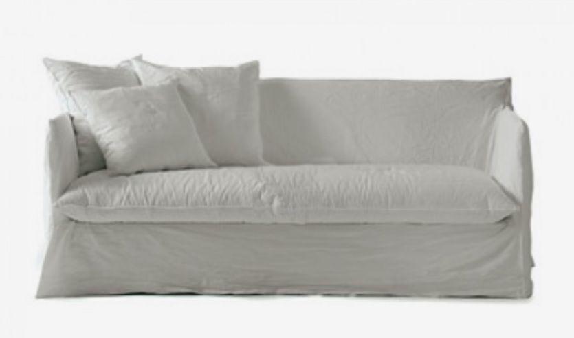 Canapé Lit Ghost 15 Gervasoni Design Paola Navone | Canapé ... dedans Canapé Lit De Style Cuir Et Bois