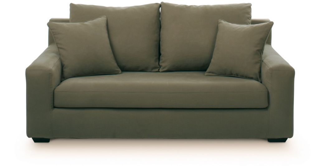 Canapé Tissu Manhattan Fixe Ou Convertible Home Spirit serapportantà Canapé Convertible Destockage