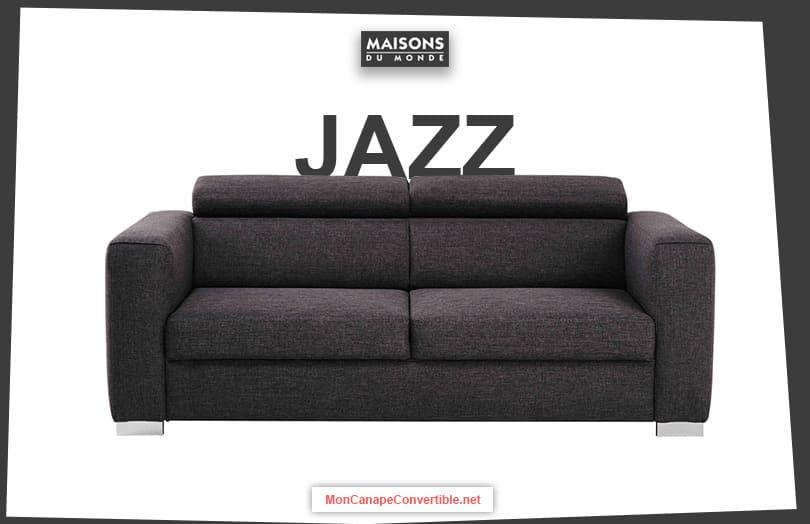 Canapés Convertibles Maisons Du Monde ... tout Canape Jazz Conforama