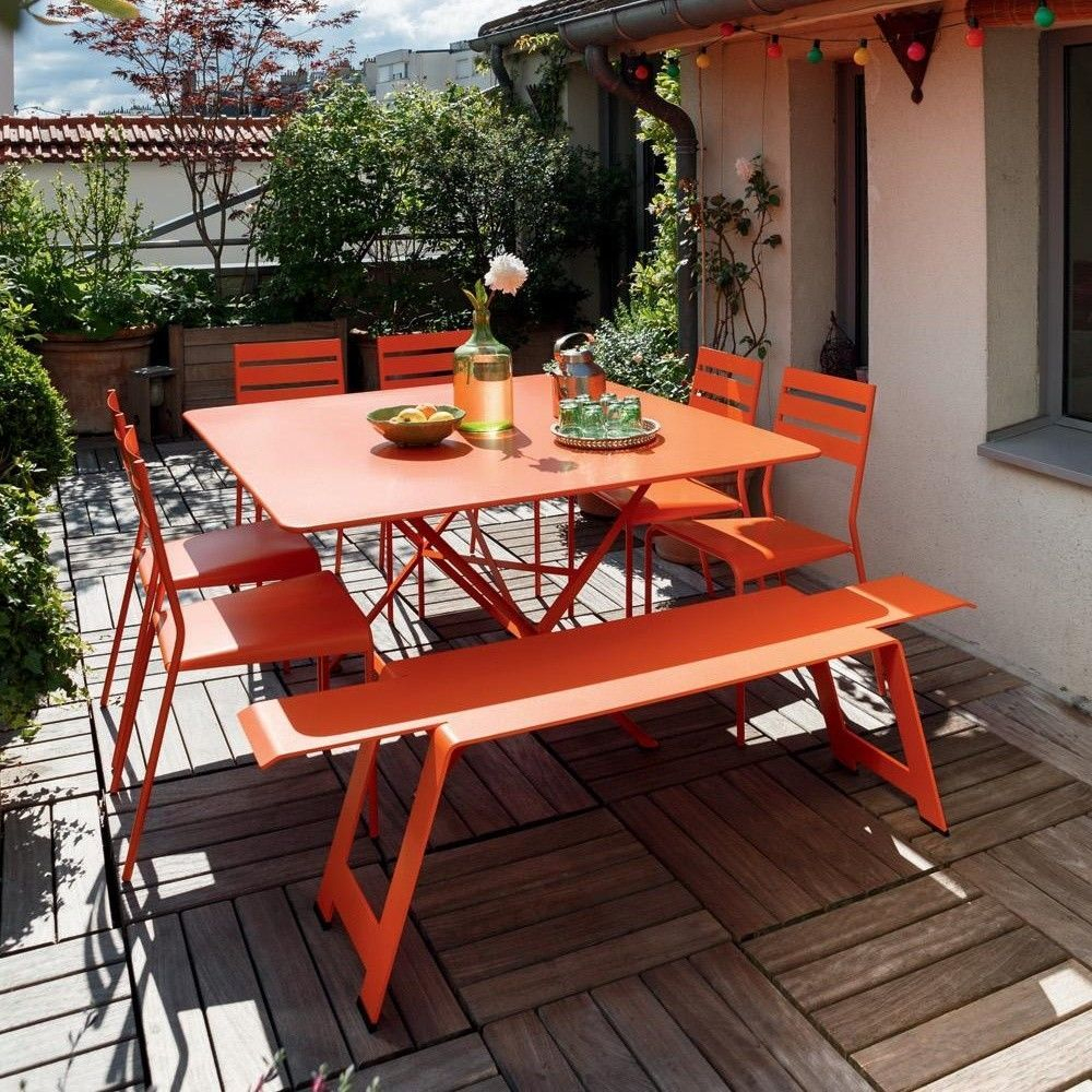 Cargo Folding Garden Table | Fermob | Ambientedirect tout Table Fermob Cargo Soldes