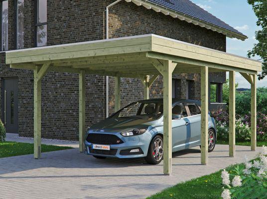 Carport Bois Brico Dépôt 2020 - Carcrot avec Auvent Bois Brico Depot
