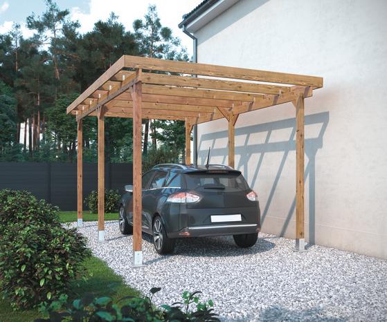 Carport Bois Pas Cher Brico Depot - Carports Garage Ideas encequiconcerne Auvent Bois Brico Depot