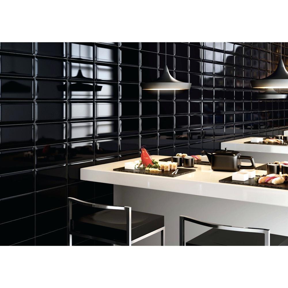 Carrelage Metro Noir Cuisine - Livraison-Clenbuterol.fr serapportantà Carrelage Mural Noir Mat