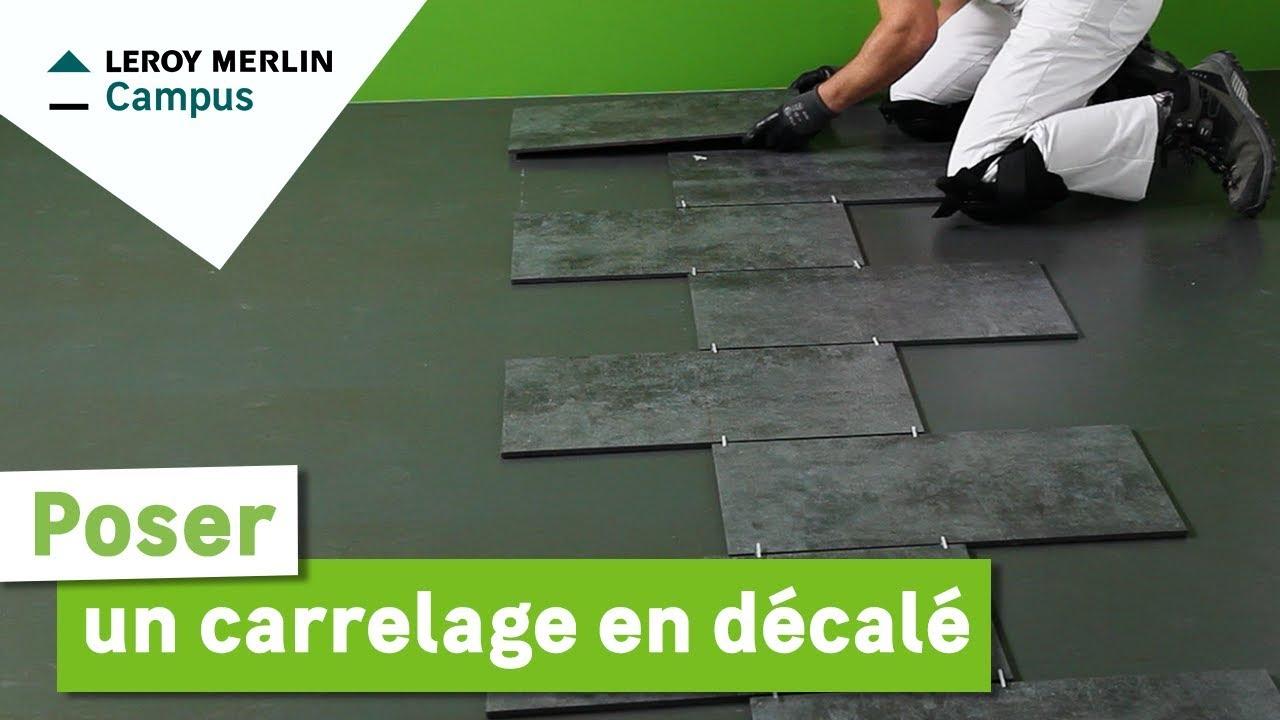 Carrelage Parquet Chevron Leroy Merlin serapportantà Carrelage Realta Miel