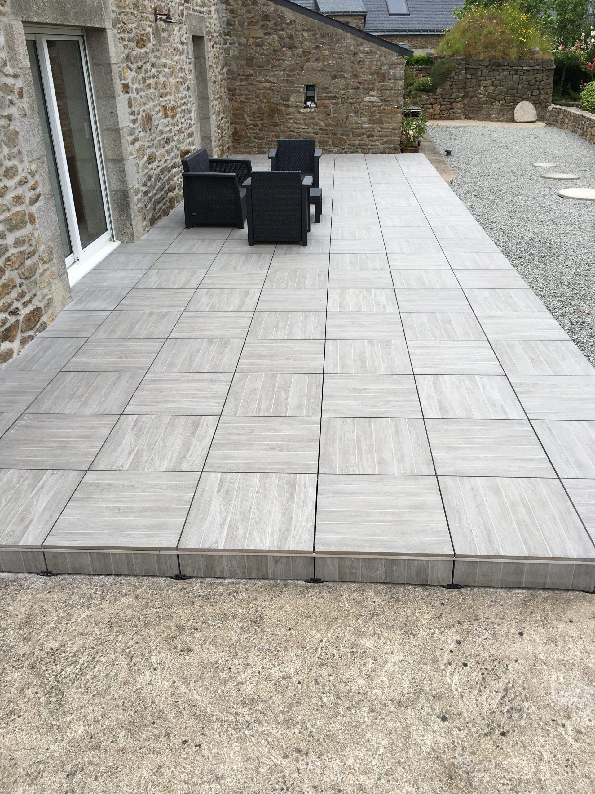 Carrelage Sur Plots - An Oriant Sols à Baguette Finition Terrasse Sur Plot