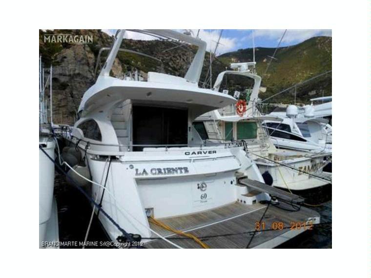 Carver Boat Marquis 60 En Italie | Yacht À Moteur D ... à Marquise D'Occasion
