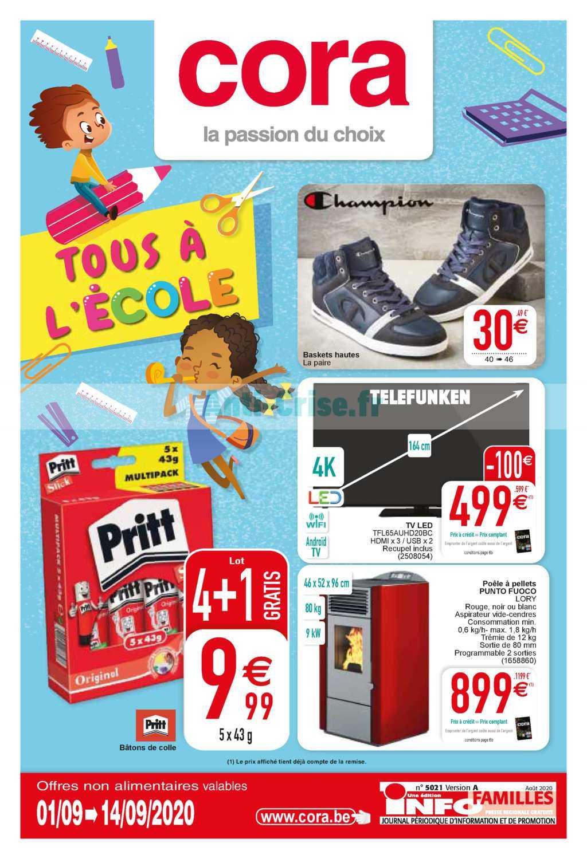 Catalogue Cora Belgique Du 01 Au 14 Septembre 2020 ... dedans Catalogue Piscine Cora 2020