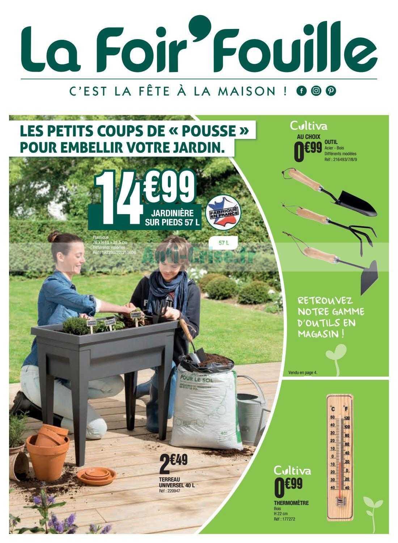 Catalogue La Foir'Fouille Du 24 Février Au 22 Mars 2020 ... intérieur Pouf La Foir'Fouille