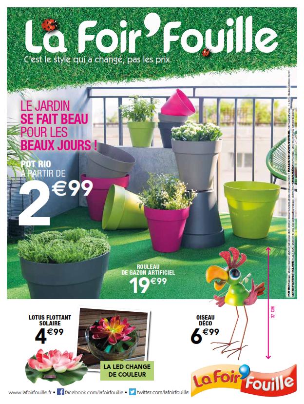 Catalogue Salon De Jardin La Foir'Fouille - Mailleraye.fr ... dedans Pouf La Foir'Fouille