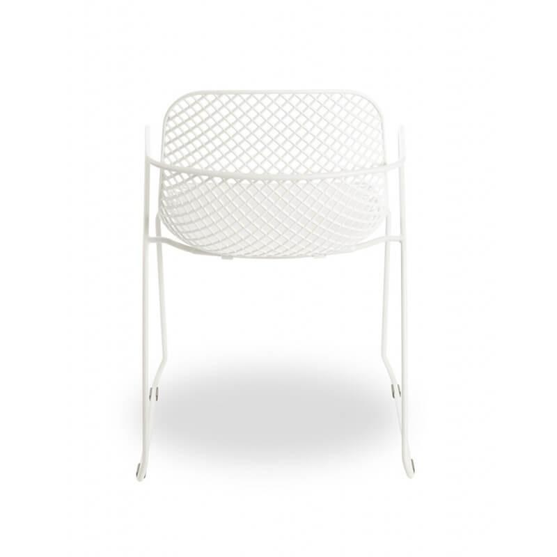 Chaise De Jardin Design Avec Accoudoirs Et Pieds Traîneau ... dedans Date Braderie Grosfillex 2021