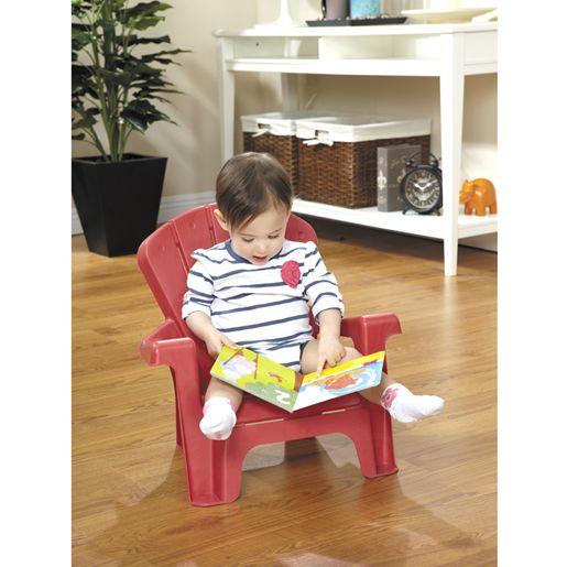 Chaise De Jardin Rouge Pour Enfant - Jeux Et Jouets Little ... destiné Jardin Des Découvertes Little Tikes