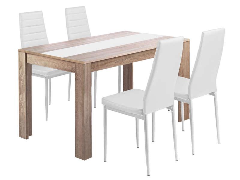 Chaise Et Table Cuisine Conforama encequiconcerne Table Avec Chaise Encastrable Conforama