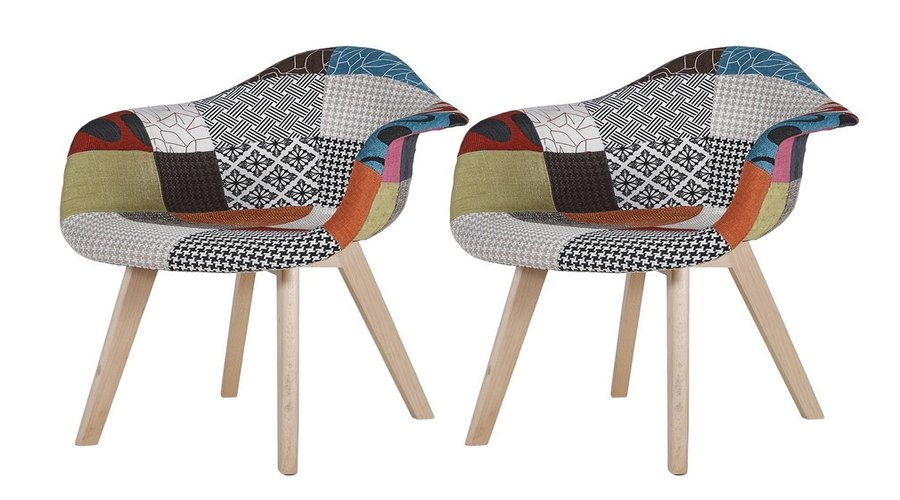 Chaise Scandinave Patchwork: Top 5 Des Meilleurs Choix En ... destiné Chaise Scandinave Patchwork But