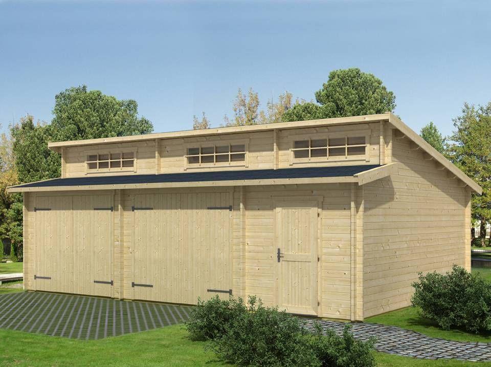 Chalet Garage En Bois - Châlet, Maison Et Cabane serapportantà Chalet Pologne Kit
