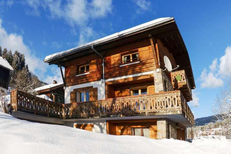Chalet Montagne Tradition Les Gets - Châlet, Maison Et Cabane destiné Chalet Pologne Kit