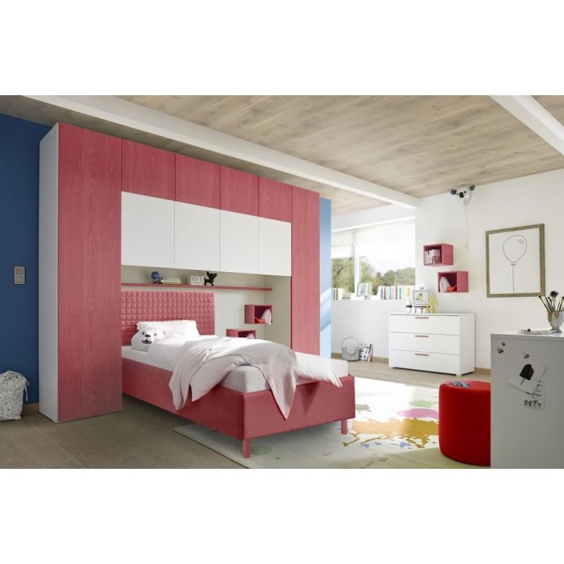 Chambre Enfant Moderne |Lit Pont Moderne |Achat Vente ... intérieur Chambre Lit Pont But