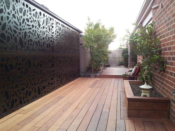 Choisissez Un Panneau Occultant De Jardin | Jardin ... à Panneau Décoratif Métal Extérieur Leroy Merlin