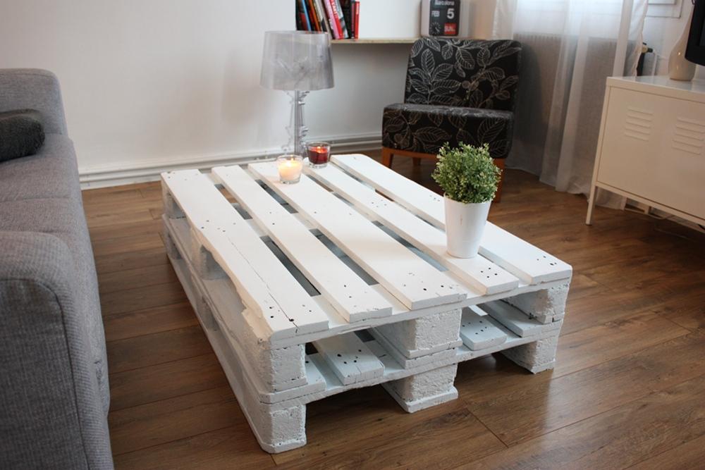 Comment Fabriquer Une Table Basse En Palettes serapportantà Comment Fabriquer Une Table De Ferme En Bois