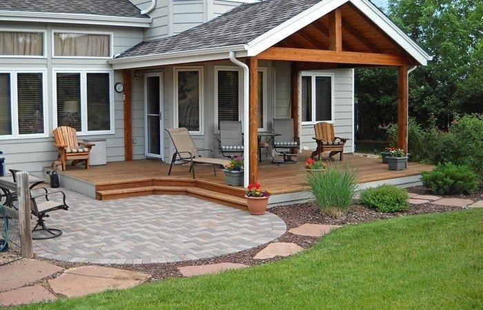Conception D'Une Terrasse Couverte - Terrasse Beton dedans Terrasse Couverte Avec Poteaux Beton