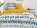Cool Printed Duvet Cover La Redoute Interieurs | La Redoute pour Housse Bz 140 Bleu Canard