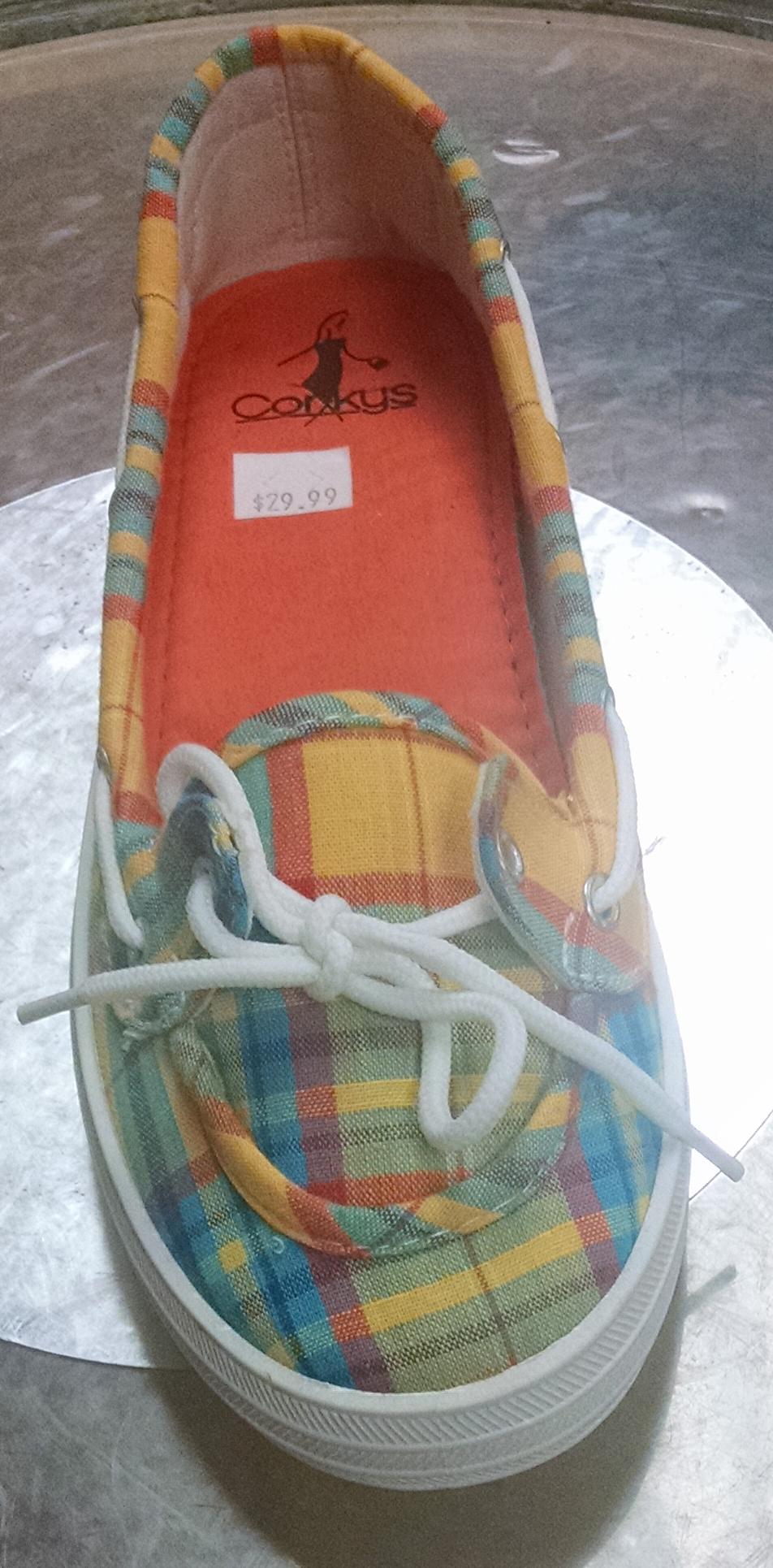 Corky - Deckit - Orange Multi   Boutique 1631 encequiconcerne Deckit