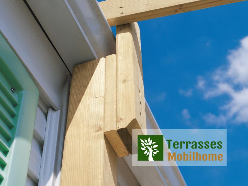 Couverture Sun Pour Terrasse, De 2.40 À 2.70M De ... destiné Kit Couverture Terrasse Mobil Home