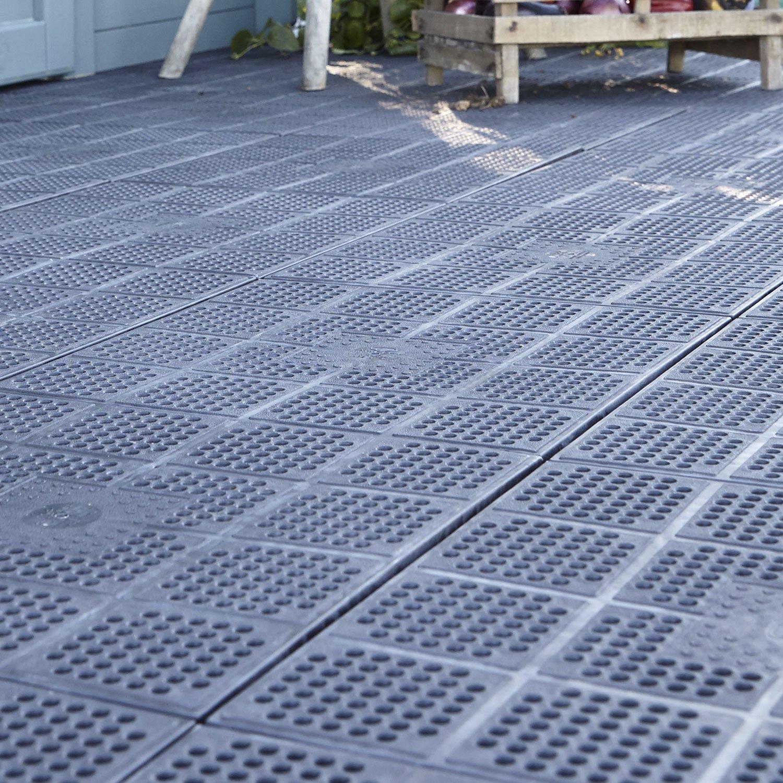 Dalle Terrasse Composite 50X50 Leroy Merlin - Mailleraye ... serapportantà Dalle Gravillonnée Leroy Merlin