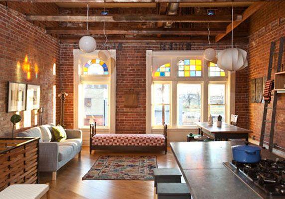 Déco Et Murs En Briques | Deco Décoration Design Mydz ... tout Decoration Brique Rouge Style Loft New Yorkais