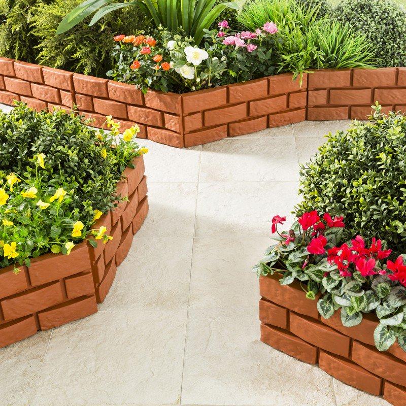 Decoration Jardin Bordure concernant Bordure Ecolat Castorama
