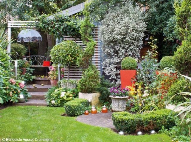 Décoration Petit Jardin Maison - Exemples D'Aménagements dedans Concevoir Un Petit Jardin Anglais