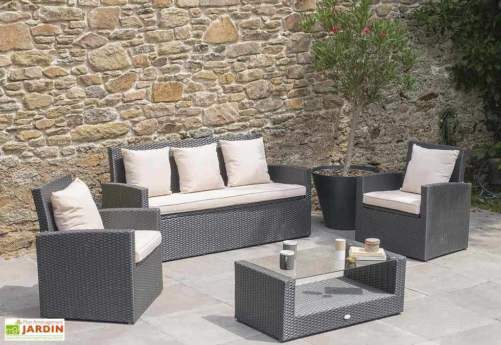Destockage Salon De Jardin Resine Tressee Idéal 60 Table ... pour Destockage Salon De Jardin Résine Tressée