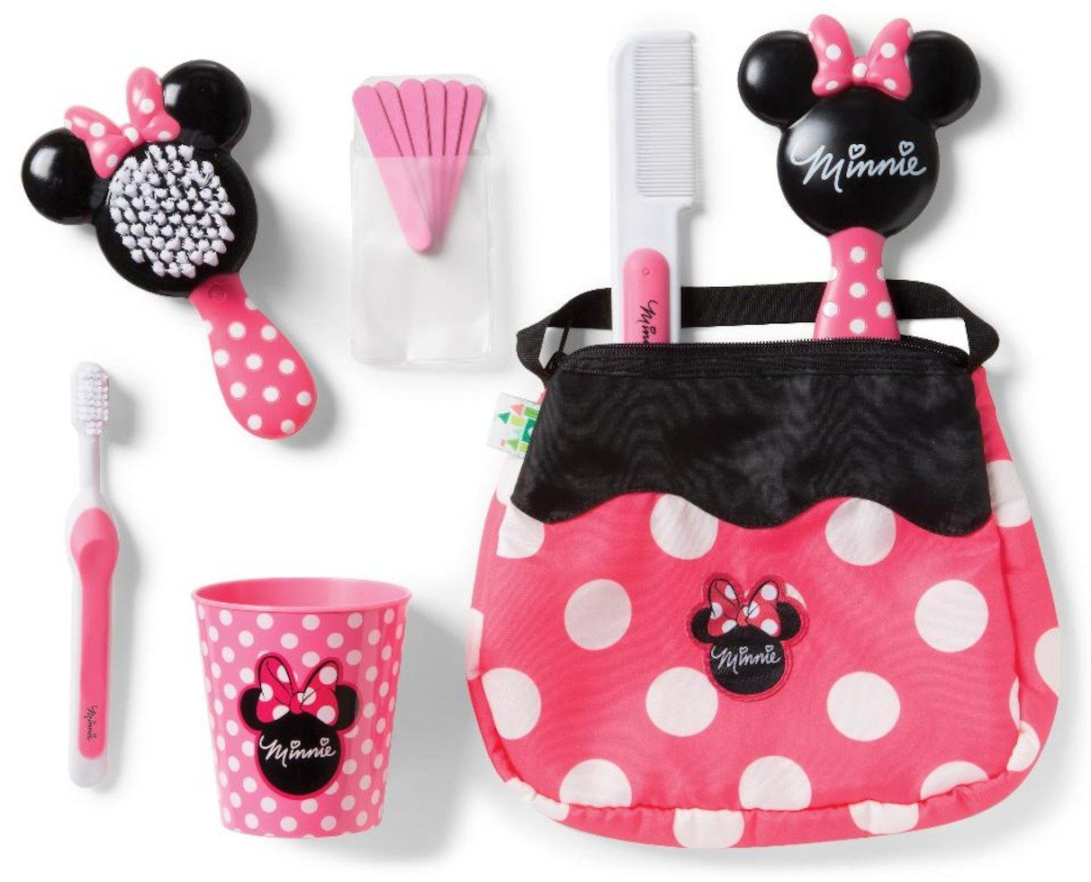 Disney Baby Minnie Mouse Purse And Grooming Essentials Kit ... concernant Minnie Canapé Mousse Sofa - Disney Baby