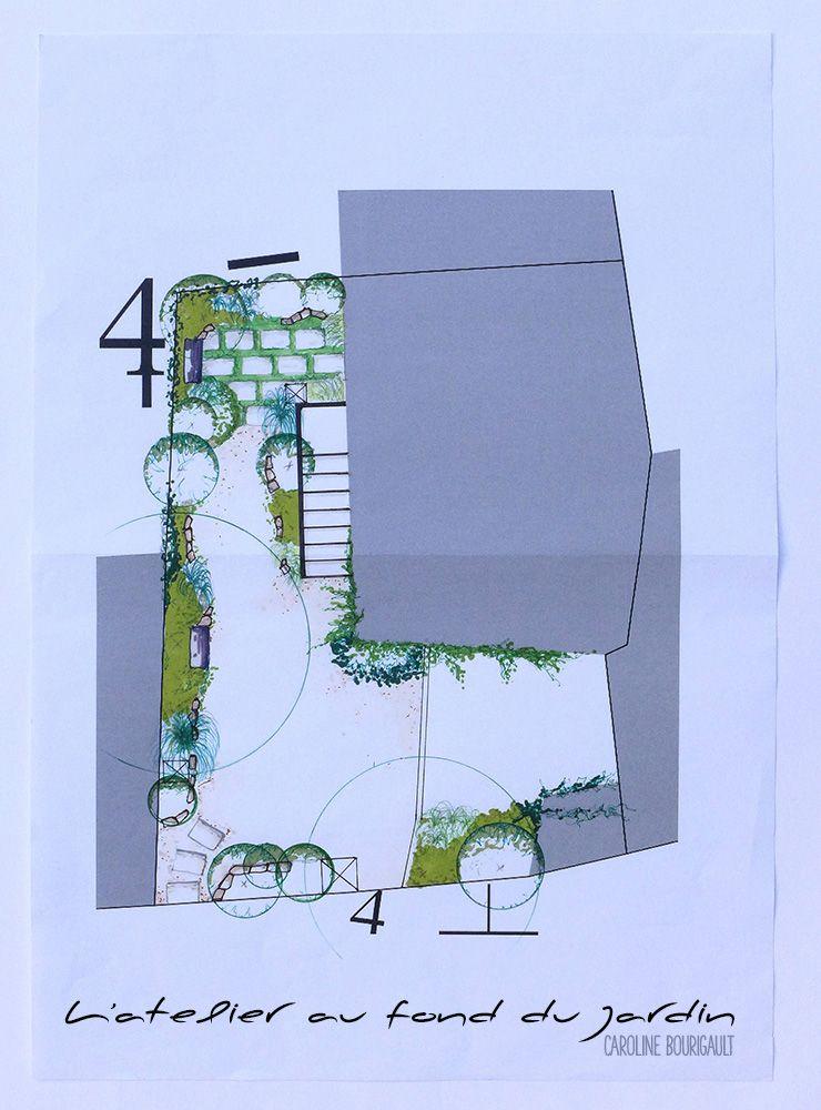 Épinglé Sur L'Atelier Au Fond Du Jardin - Paysagiste encequiconcerne Caroline Bourigault