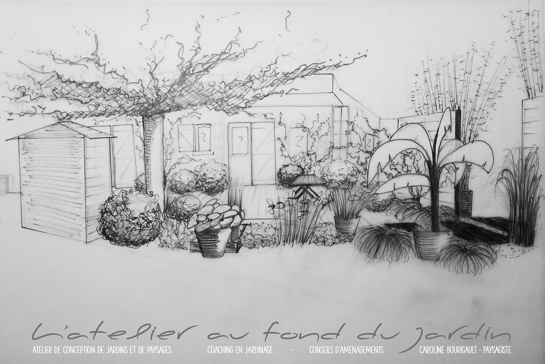 Épinglé Sur L'Atelier Au Fond Du Jardin - Paysagiste tout Caroline Bourigault