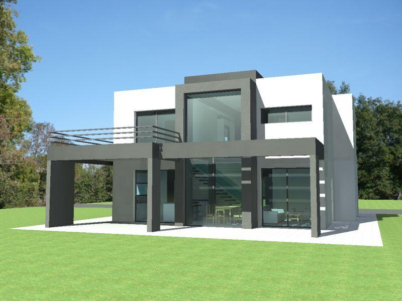 Épinglé Sur Modern Houz pour Plan Maison Toit Plat 200M2