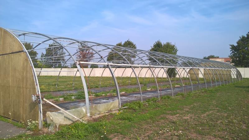 Espaces Verts / Jardinage - Armature De Serre - Jardin781 ... tout Arceaux De Serre Occasion