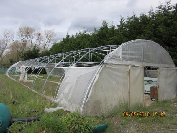 Espaces Verts / Jardinage - Armature De Serre Richel ... intérieur Arceaux De Serre Occasion
