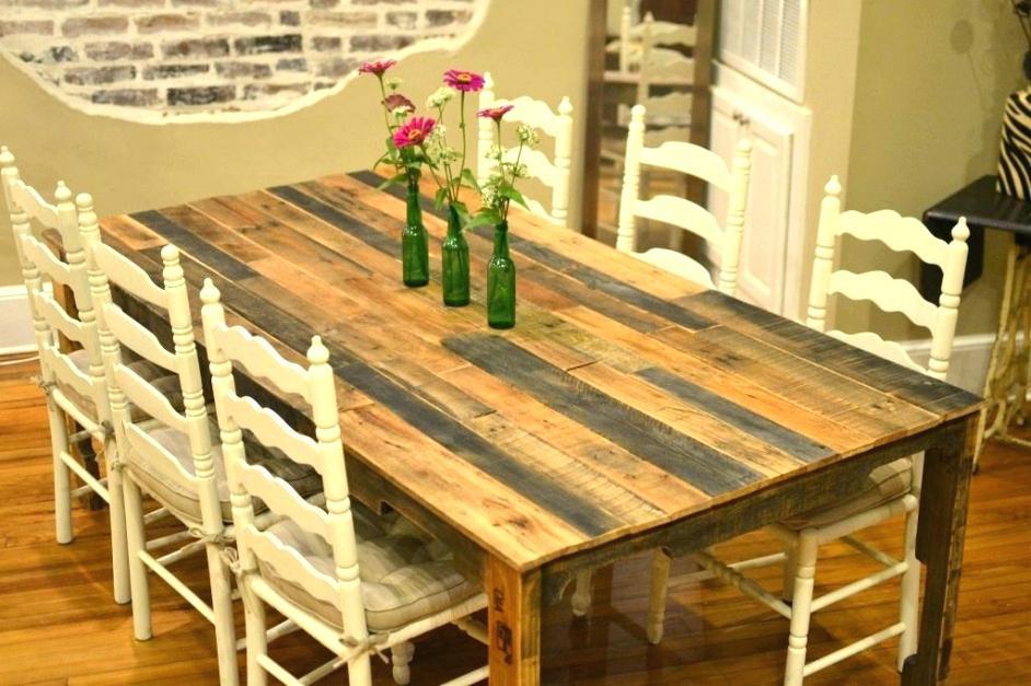 Fabriquer Sa Table De Cuisine En Bois - Atwebster.fr ... intérieur Comment Fabriquer Une Table De Ferme En Bois