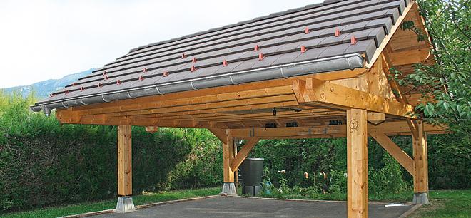 Fabriquer Un Auvent Pour Abriter Sa Voiture intérieur Auvent Bois Brico Depot