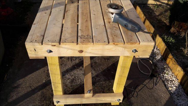 Fabriquer Une Table Avec Des Palettes   Table Picnic Bois ... avec Comment Fabriquer Une Table De Ferme En Bois
