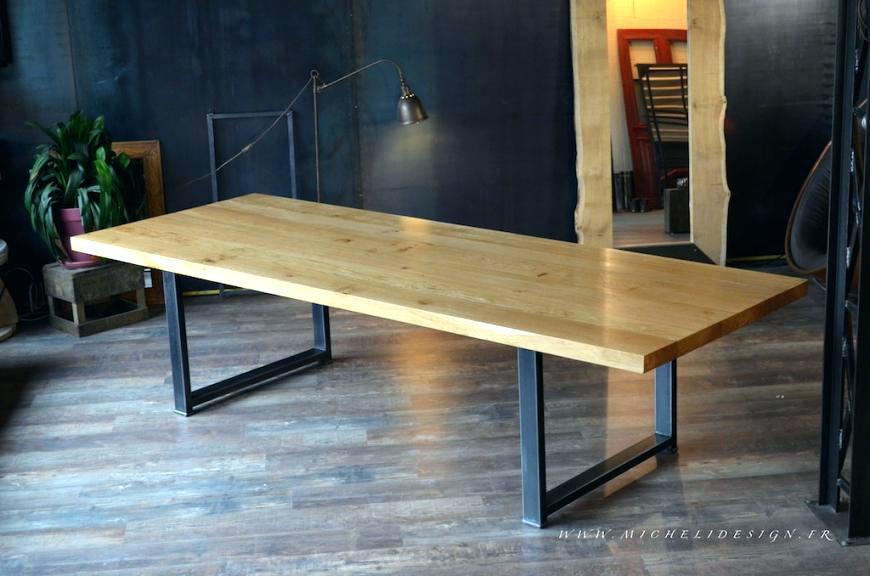 Fabriquer Une Table De Cuisine En Bois De Grange ... intérieur Comment Fabriquer Une Table De Ferme En Bois