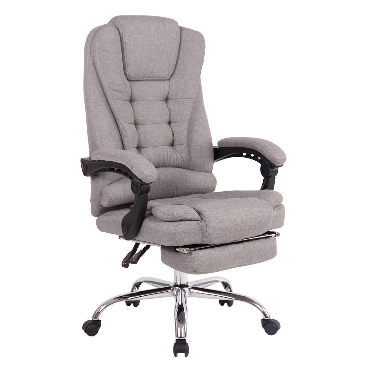 Fauteuil De Bureau James, Repose-Pieds, Grand Confort ... tout Repose Pied Bureau Ikea
