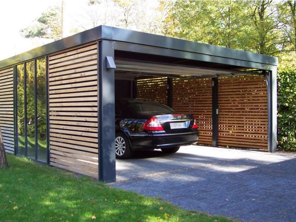 Garage: Garage Pour Moto En Bois concernant Abri Moto En Palette