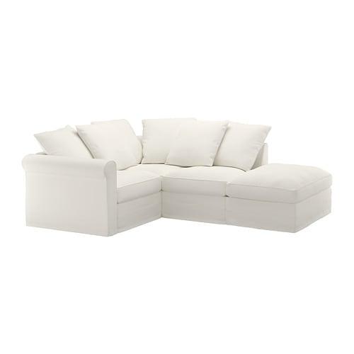 Grönlid Canapé D'Angle, 3 Places - Sans Accoudoir/Inseros ... tout Canapé D'Angle Cuir Ikea
