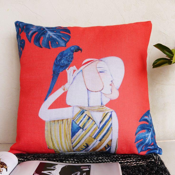 Housse De Coussin, Coussins Décoratifs,Coussin Art Deco ... à Housse De Coussin Pour Canapé